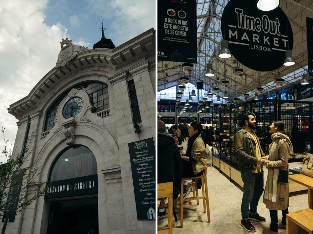 Séance photo à Lisbonne au Market Time Out