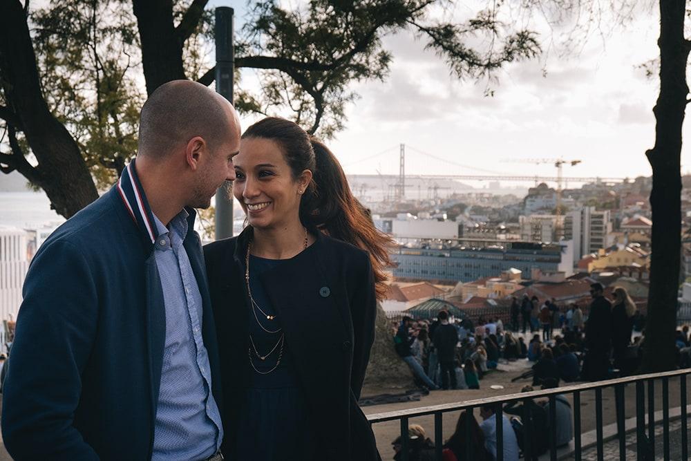 Vue Lisbonne