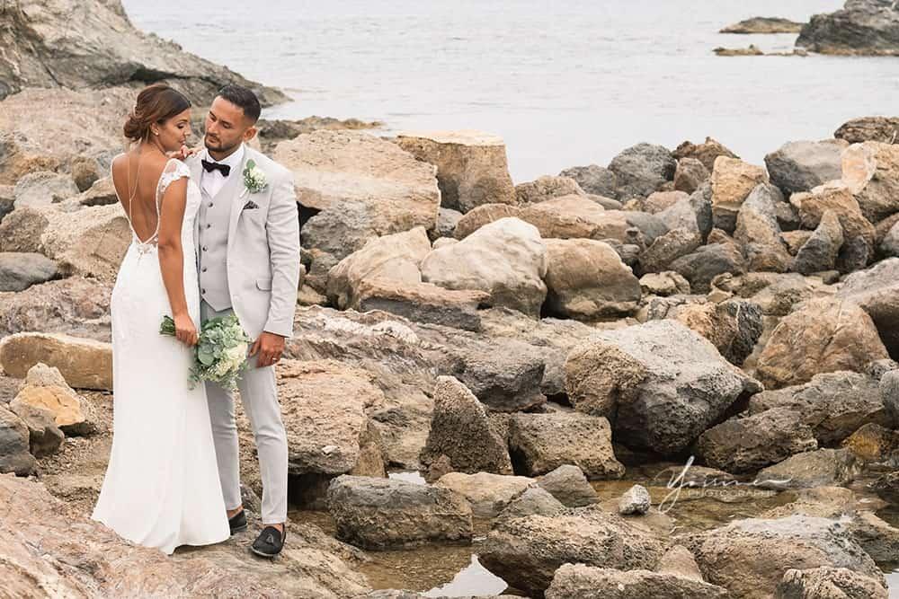 Photo couple mariage à Toulon