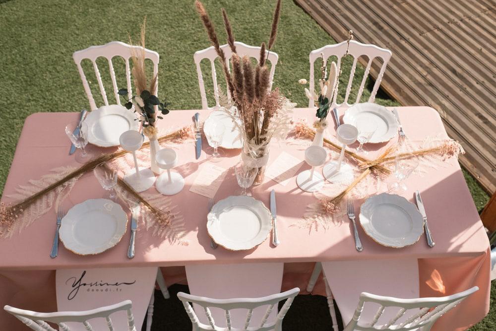Virginie réception décoratrice mariage à toulon