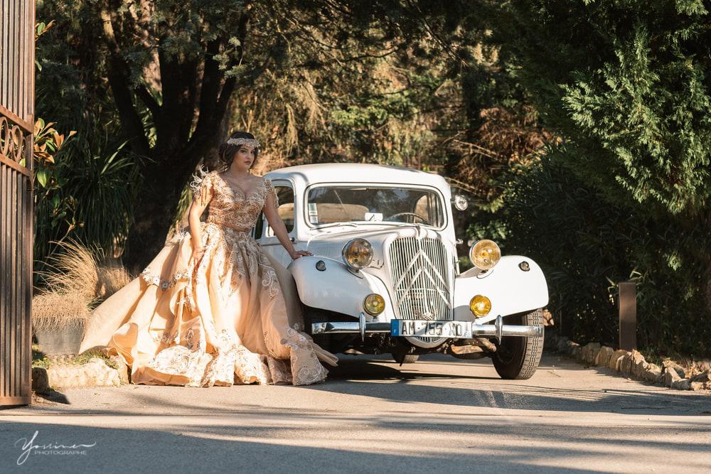Location voiture luxe de mariage